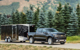 2019 Chevrolet Silverado 1500 with High Country trim