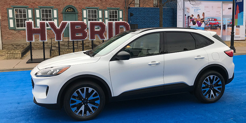 Ford Unveiled The 2020 Escape Including A Hybrid Version In Greenfield Village Dearborn Mich Front Of Wright Brothers Home And Bicycle