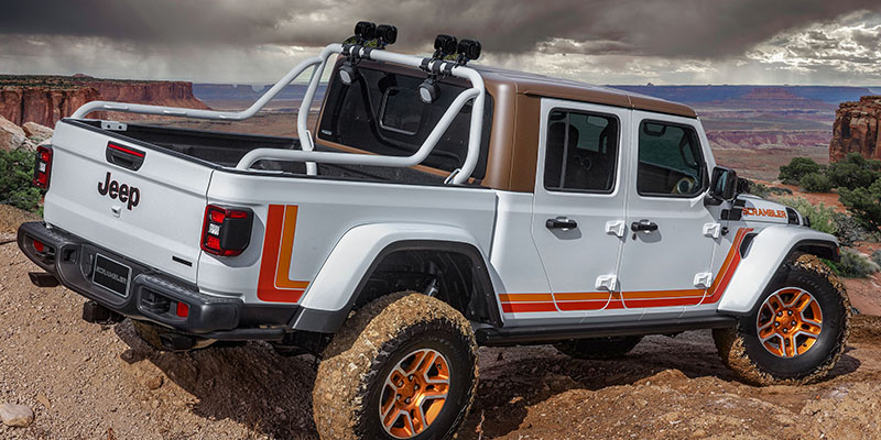 Gladiator Concepts To Descend On Moab For Easter Jeep Safari