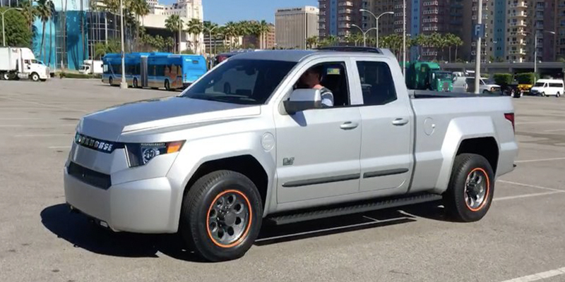Workhorse Electric Pickup Truck What We Learned From A Test Drive
