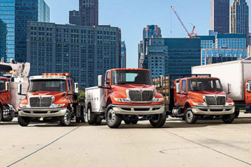 Navistar MV class medium-duty trucks