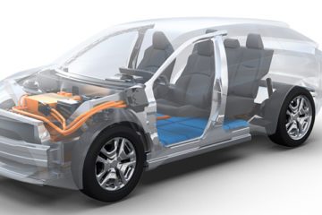 Toyota Subaru Battery Electric vehicle platform