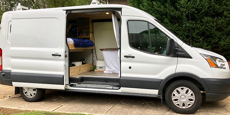 the complete guide to a diy ford transit campervan conversion diy ford transit campervan conversion