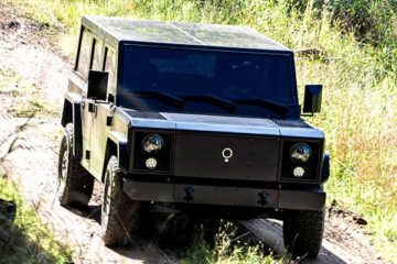 Bollinger Motors plans to launch the B1, a rugged, $125,000 electric SUV, in 2021.