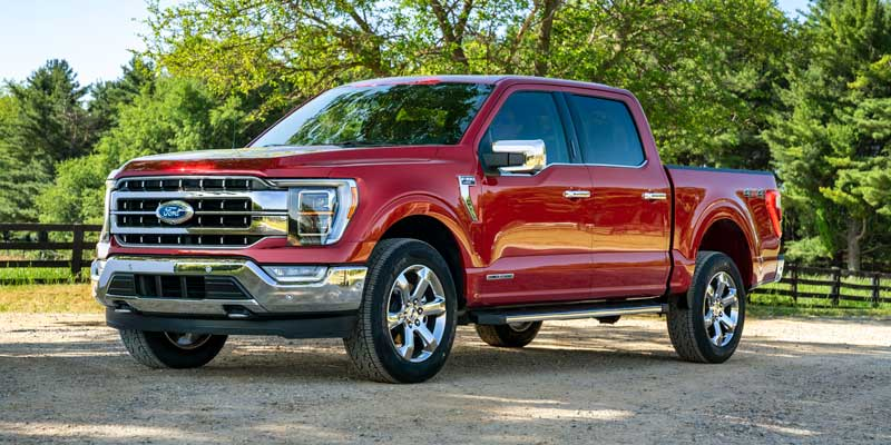 Ford Launches Redesigned 2021 F 150 Offering A Hybrid And More Technology Trucks Com