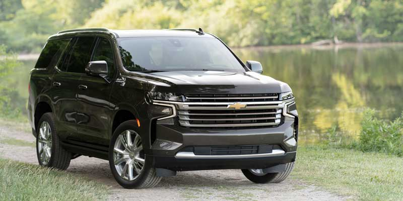 Redesigned 2021 Chevrolet Tahoe