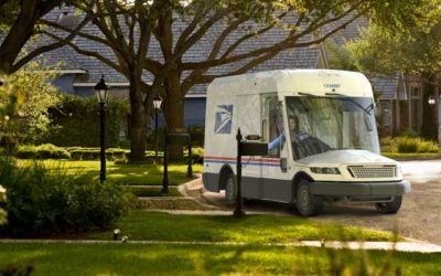New mail truck