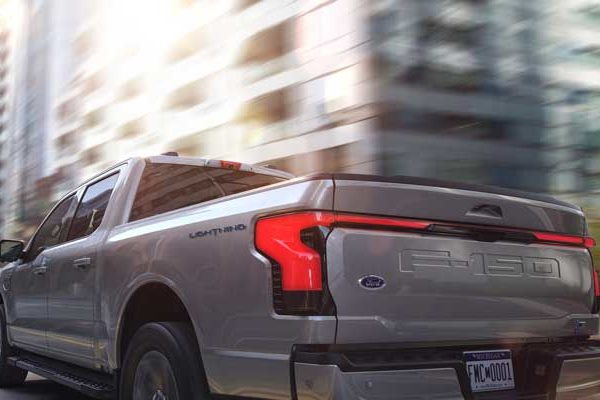 Ford's electric F-150 Lightning