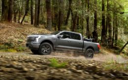 Ford's F-150 Lightning electric pickup truck