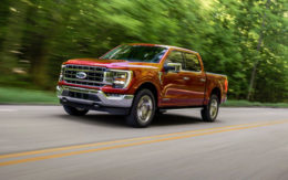 Ford's redesigned f-150 Pickup Truck